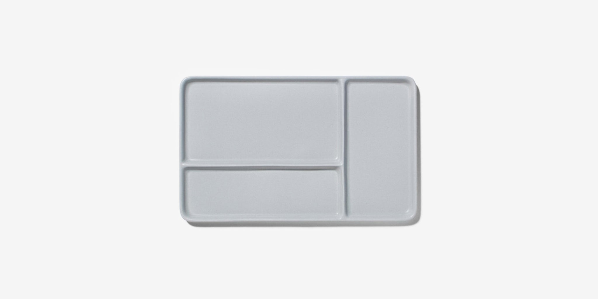 Large Sectional Tray – pigeon grey