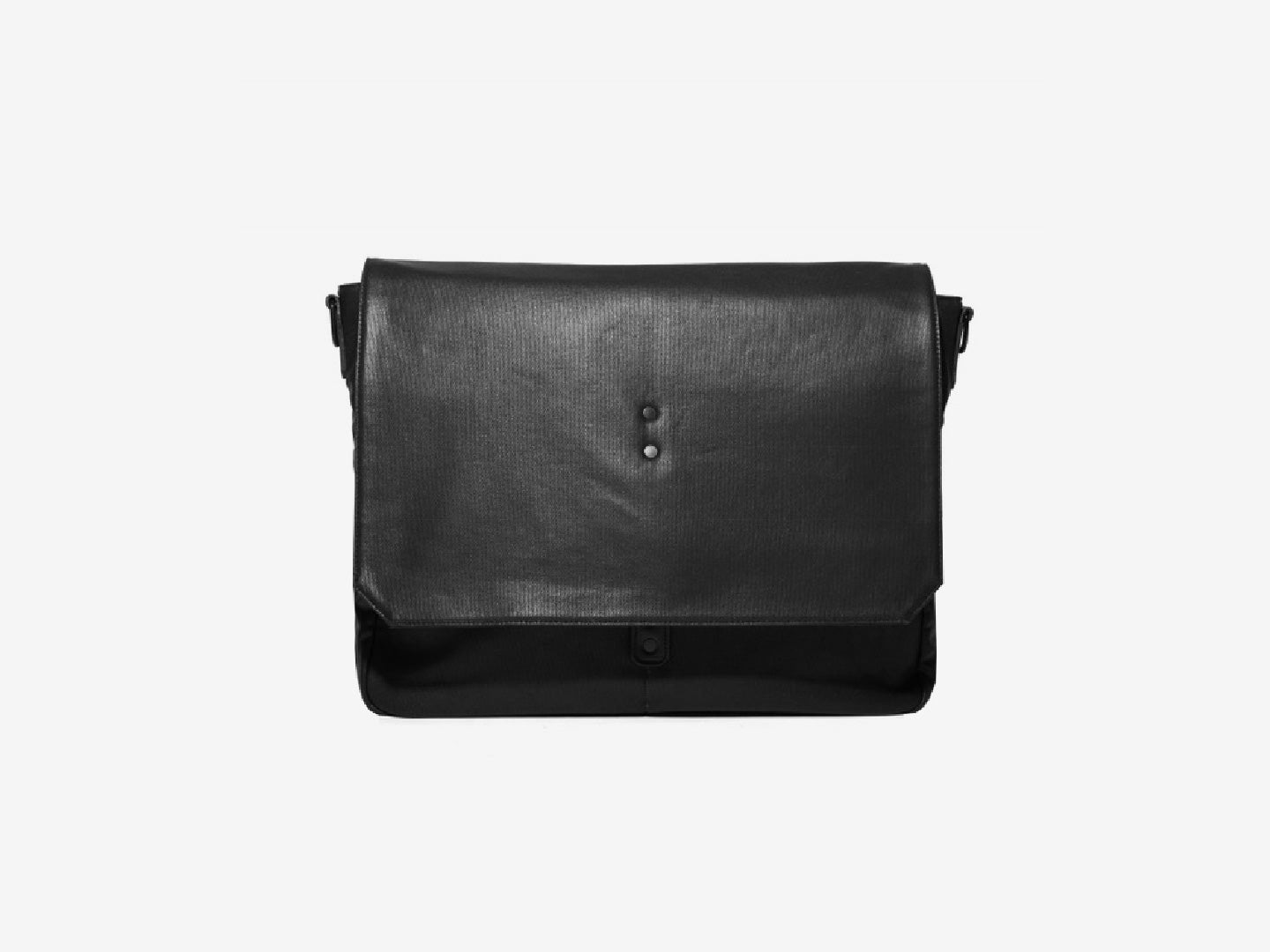 Walker Waxed Messenger Bag