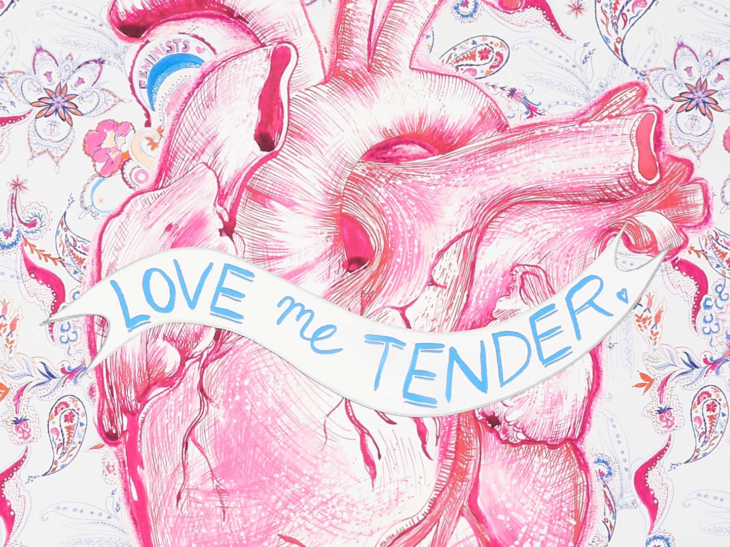 Love Me Tender scarf