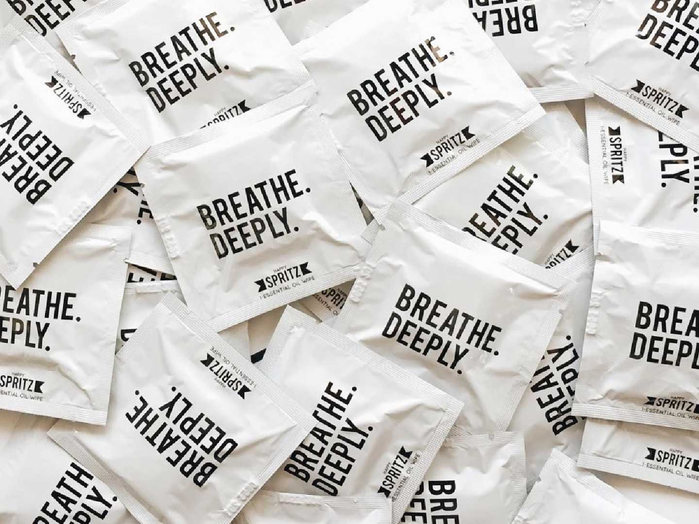Essential Oil Towelettes – Breathe deeply
