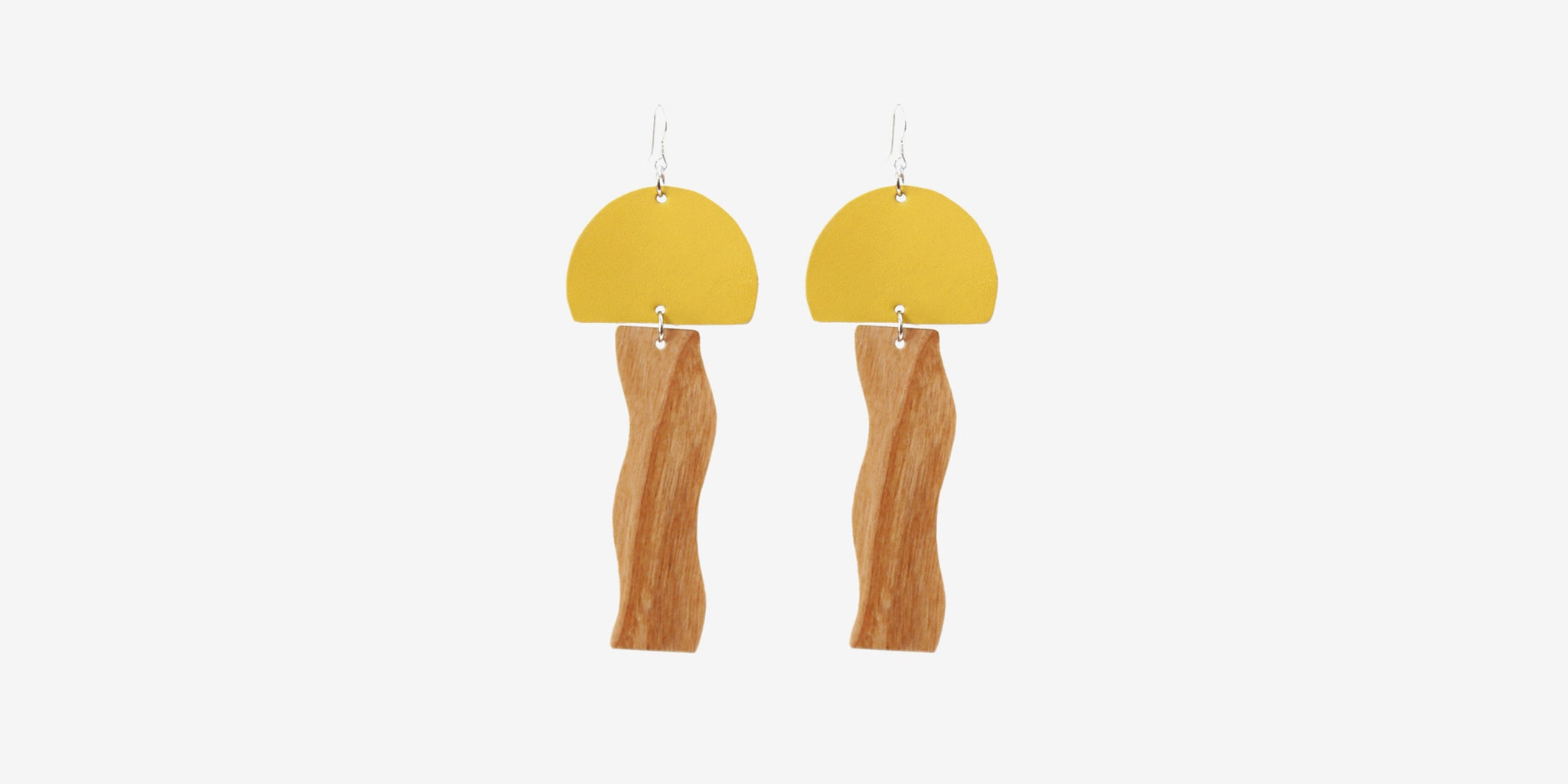 Jellyfish Earrings – Yellow