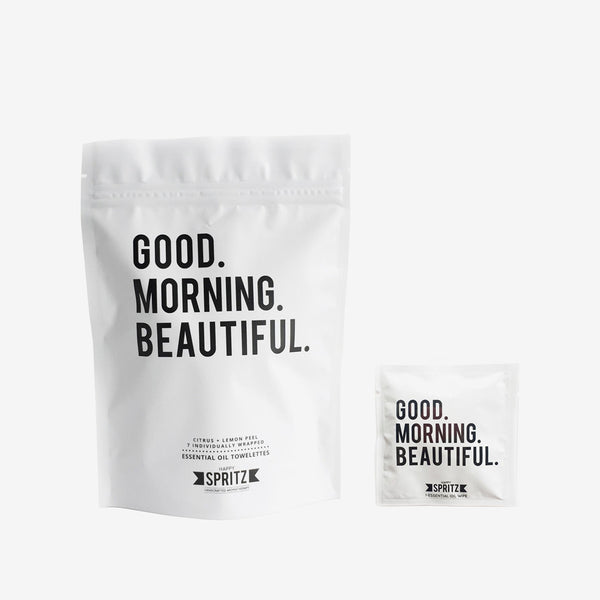 Essential Oil Towelettes – Good morning beautiful