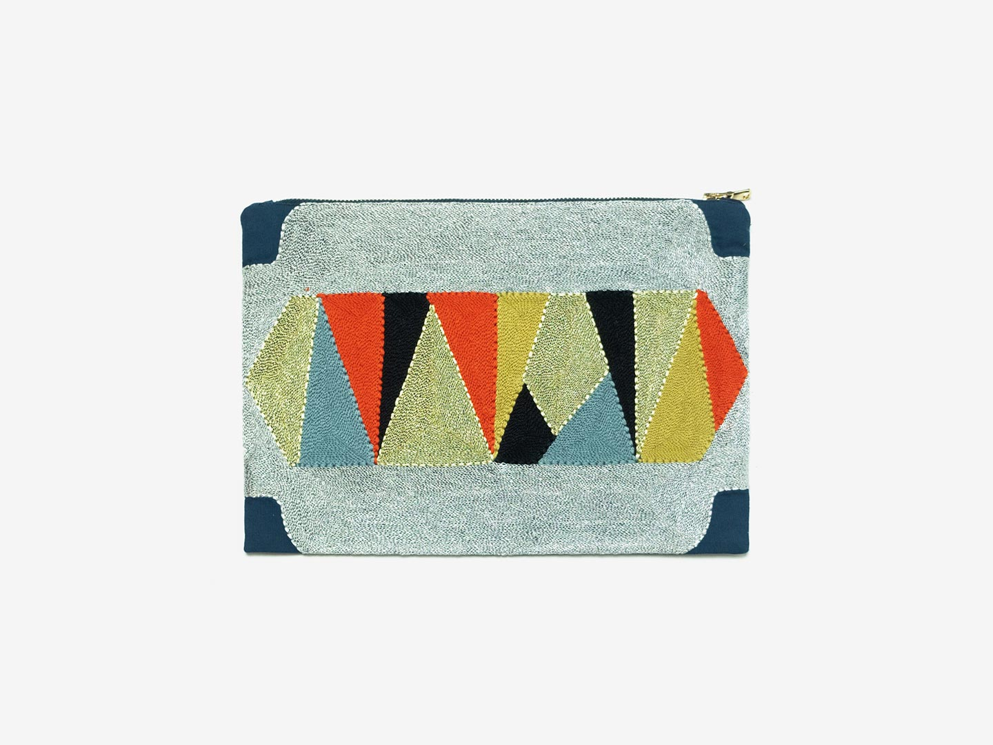 Bukali Large Clutch – persimmon
