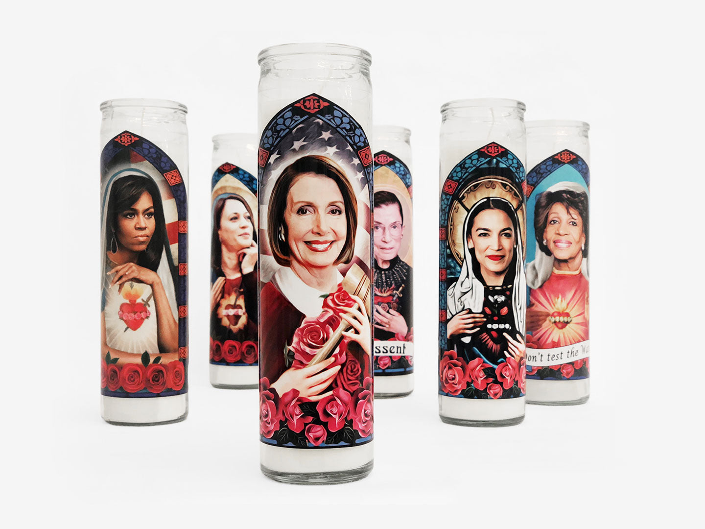 Prayer Candle Patron Saint of Dissent Ruth Bader Ginsberg