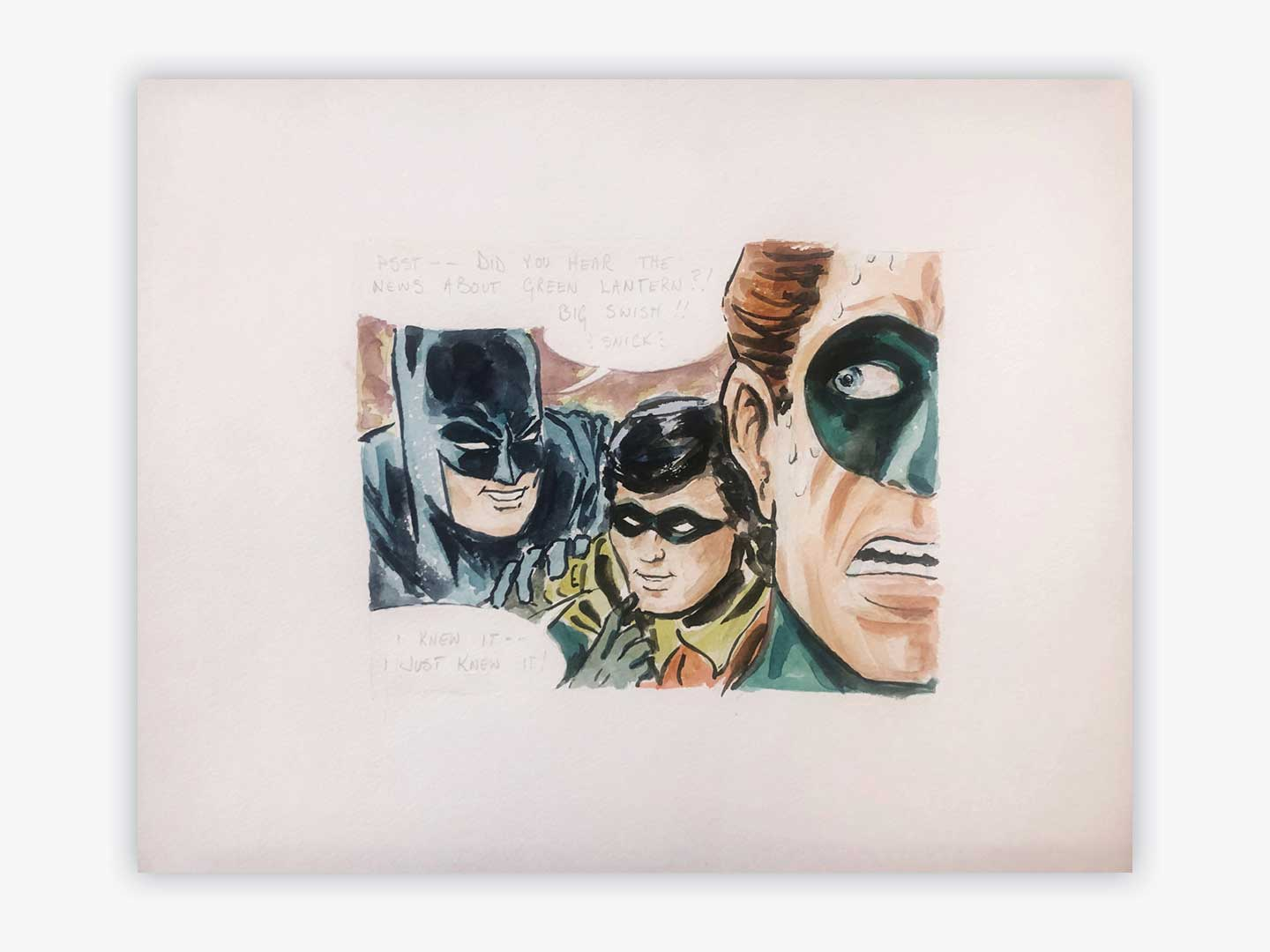 ART     – BATMAN AND ROBIN