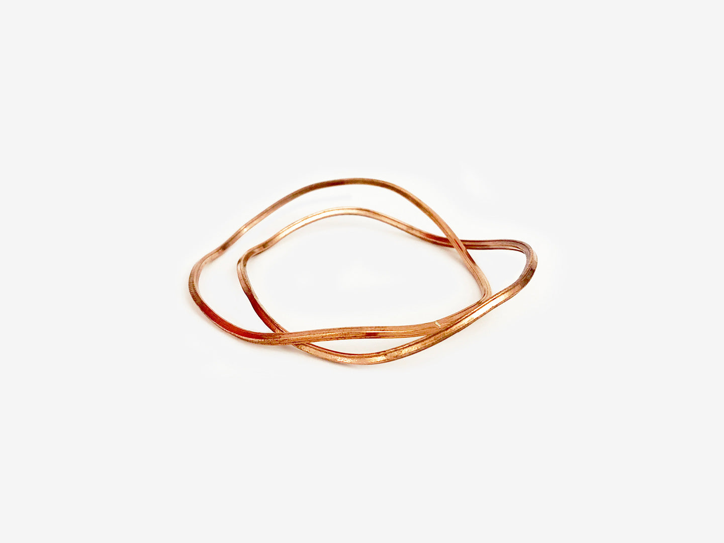 Wave Bracelets – Copper
