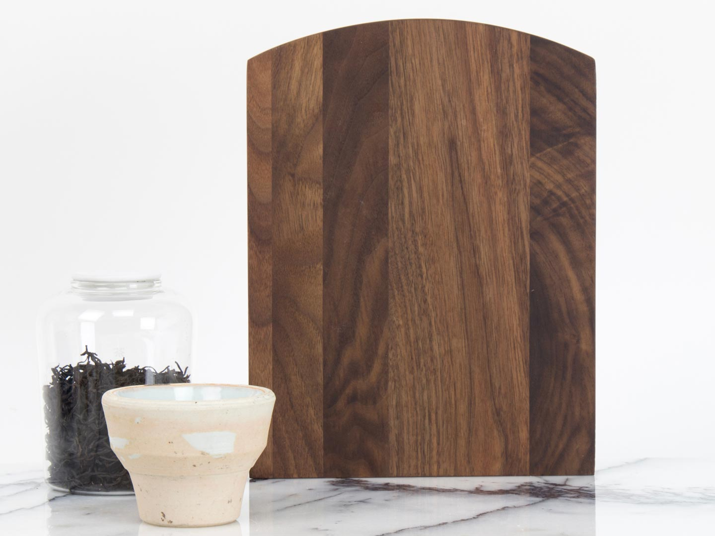 Wave Serving Board – walnut