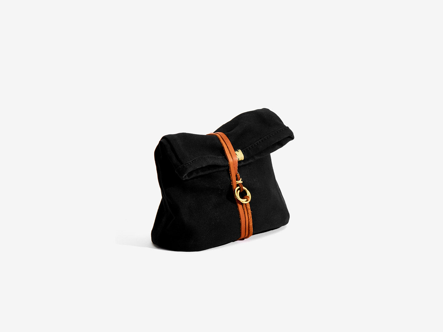Roll Top Canvas Dopp Kit