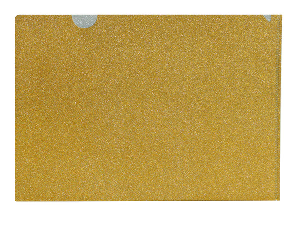 Go For Gold Glitter Folder