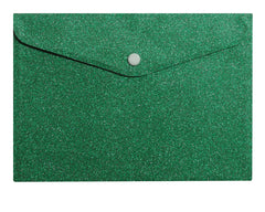Gorgeous Green Glitter Envelopes (7)
