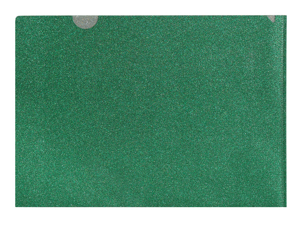 Gorgeous Green Glitter Folder
