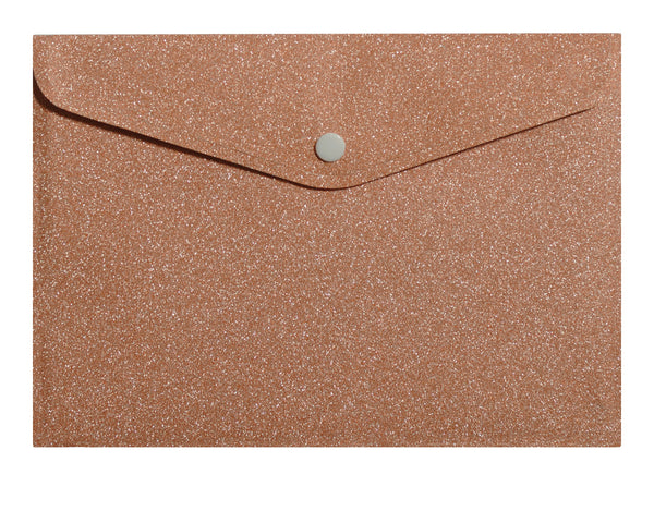 Peach Glitter Envelope