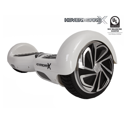 HBX-1 Hoverboard - UL 2272 - White