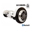 KooWheel K5 Bluetooth Hoverboard - UL 2272 - White