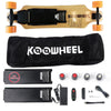 KooWheel D3M+ Edition Electric Skateboard Commuter Package, Orange Wheels