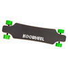 KooWheel D3M Electric Skateboard, Green Wheels