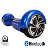 blue hoverboard with bluetooth