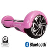 pink hoverboard with bluetooth