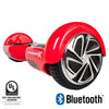 red hoverboard with bluetooth