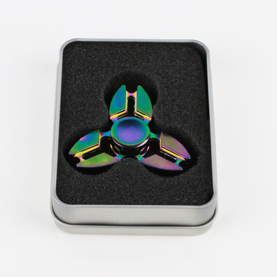Anodized Metal Star Fidget Spinner