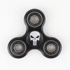 Plastic Printed Fidget Spinner - The Punisher black