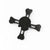 Metal Skull Fidget Spinner - Black