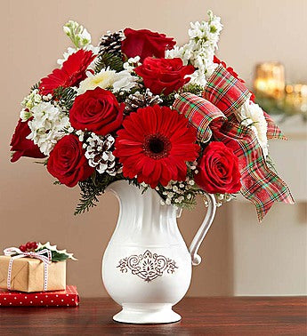 Decorate your home with Flowers for the holidays!