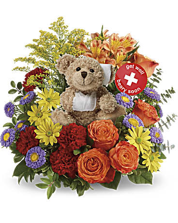 Beary Well Bear plush bouquet!