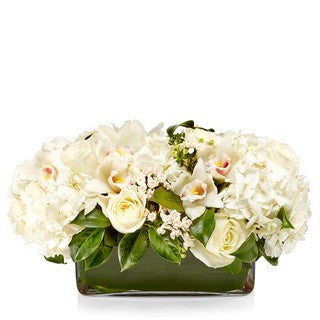 Signature White Long Arrangement
