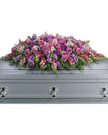 Colorful Casket Sprays