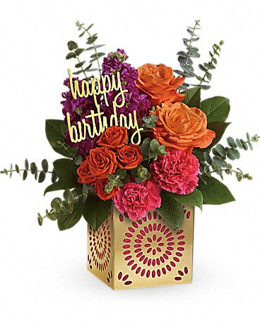 Celebrate in Style - Birthday Sparkle Bouquet