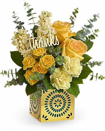 Teleflora's Shimmer Of Thanks Bouquet