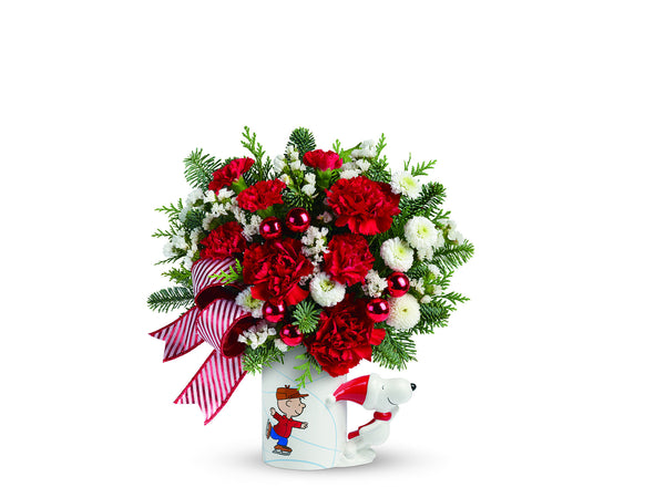 "Make Someone's Day With A Teleflora Christmas Bouquet ""limited edition"""