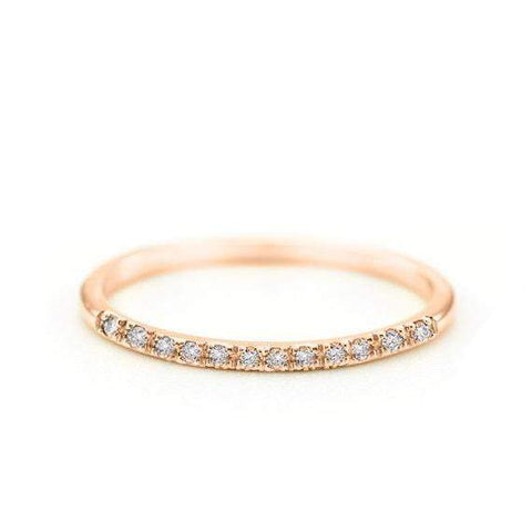Double Dot Cuff Ring (14k Yellow Gold)