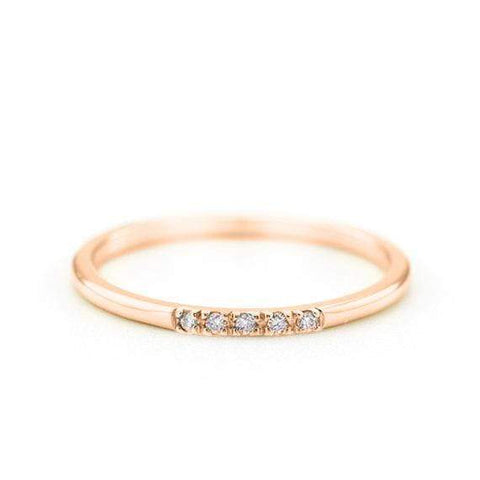 Round Diamond Ring (14k Yellow Gold)