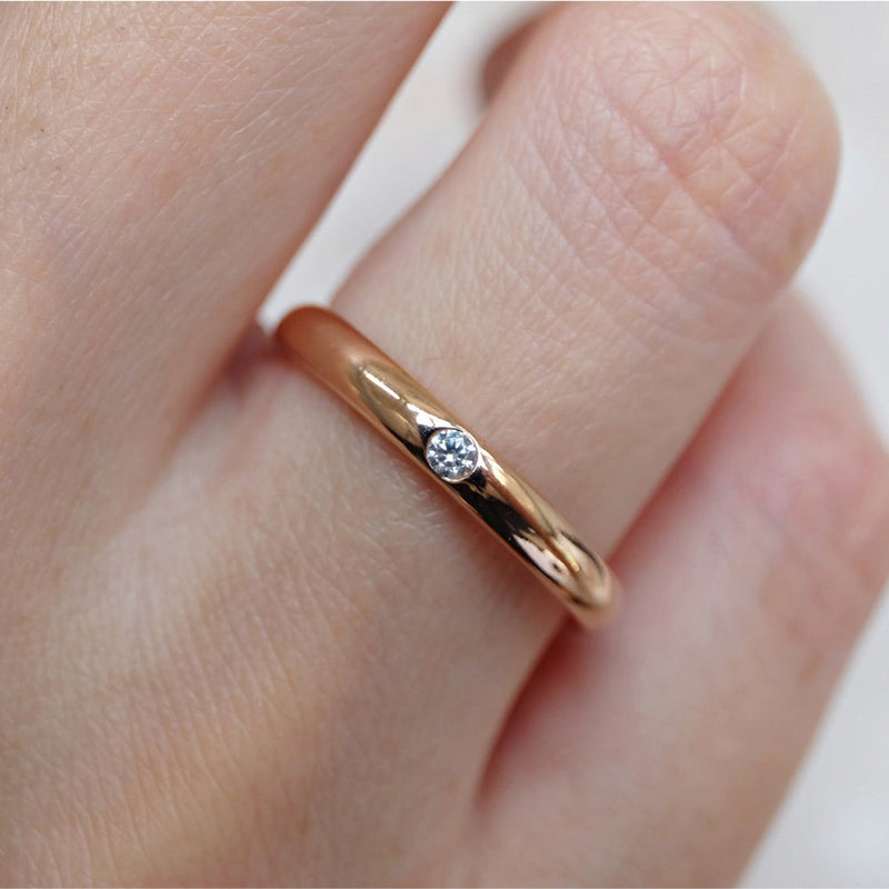 Wedding Band For Her - SOVATS
