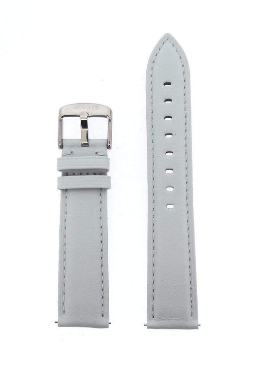 SOVATS WATCH STRAP 20 MM / GRAY LEATHER