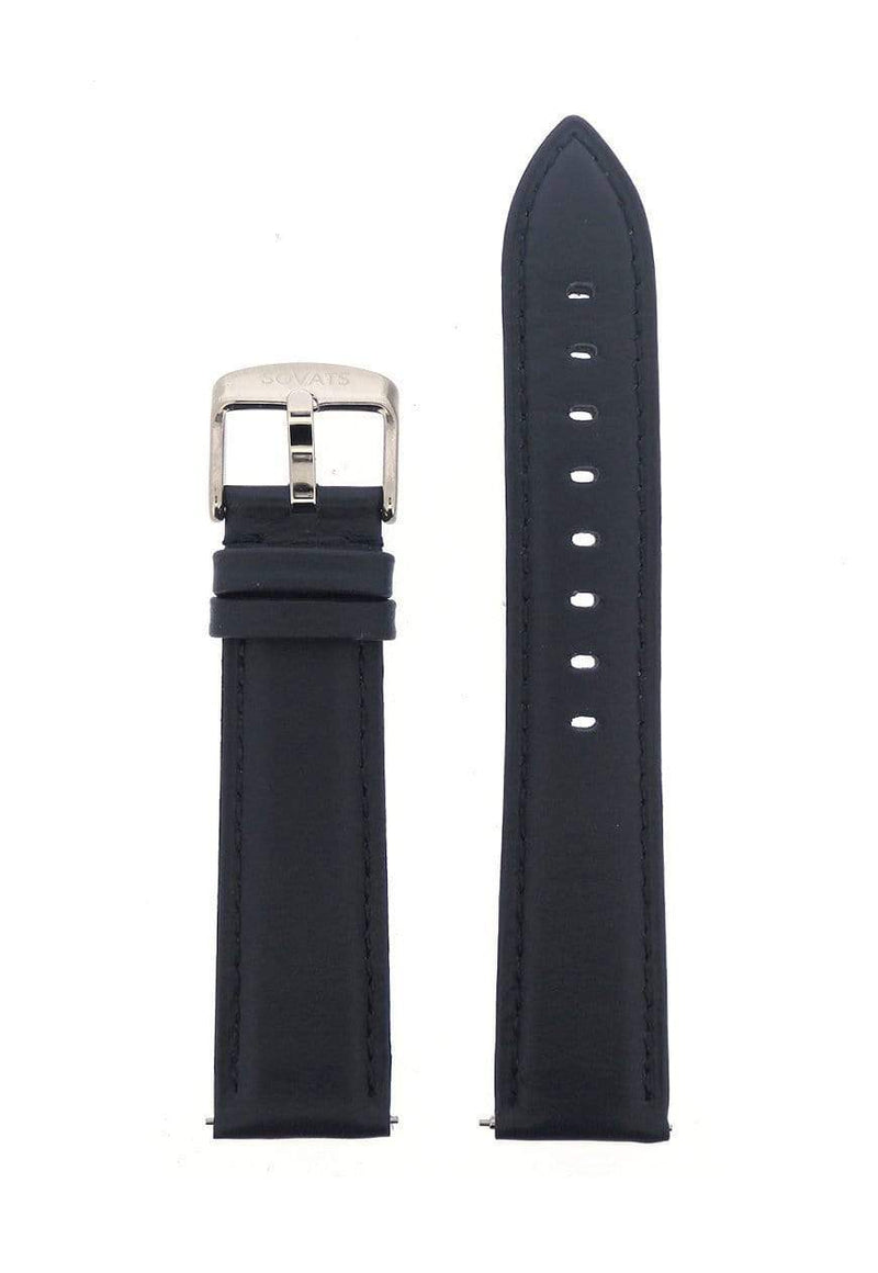 STRAP 20 MM / NAVY LEATHER - SOVATS
