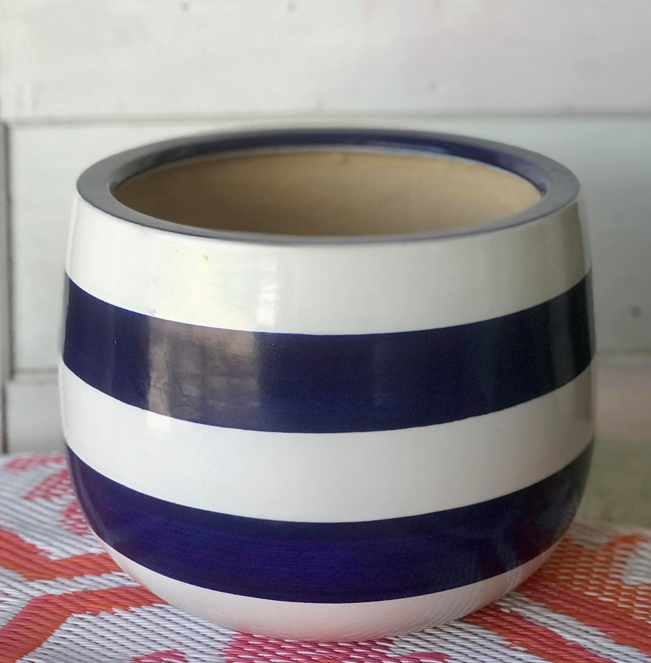 BB Bayside Hand-Painted Pot - Large