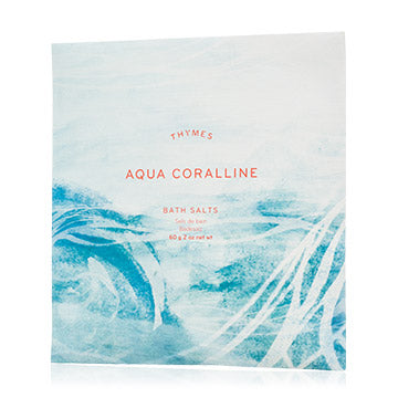 Aqua Coralline Bath Salts Envelope