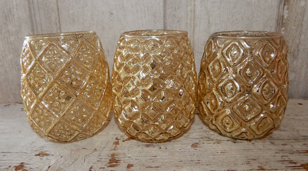 Gold Tealight Holder