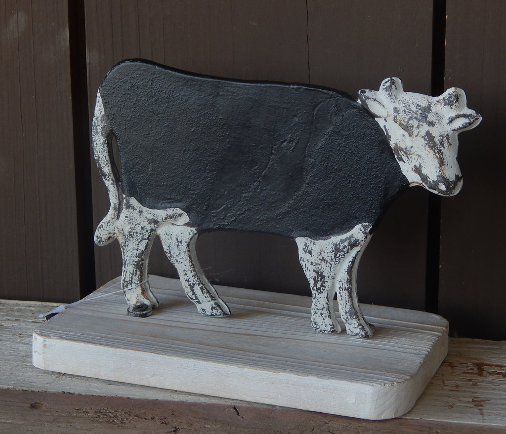 Farm Animal Tabletop Chalkboard - Cow