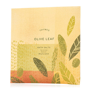 Olive Leaf Bath Salts Envelope