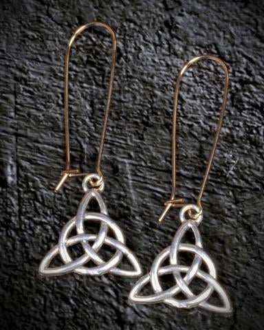 Earth Grace Logo Earrings