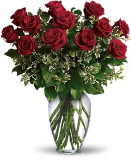 Always on my mind- Long stemmed Red Roses