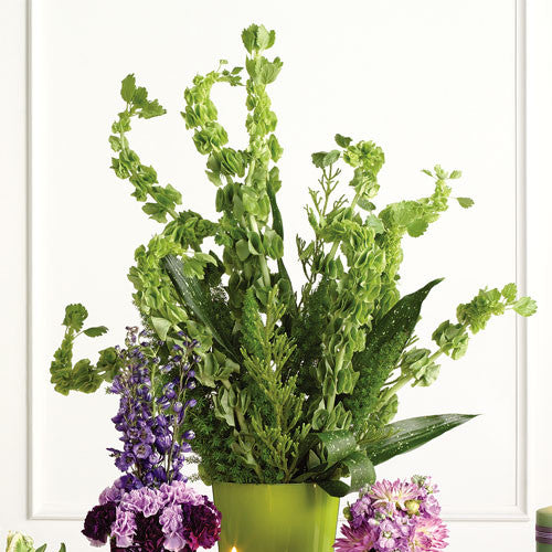 Tall Vase Altar Arrangement