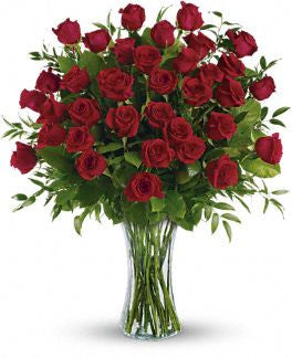 Breathtaking Beauty- 3 Dozen Long Stemmed Roses