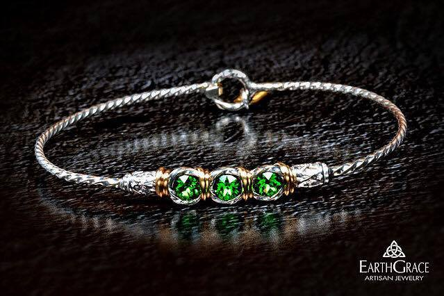 Green Eyed Girl Bracelet