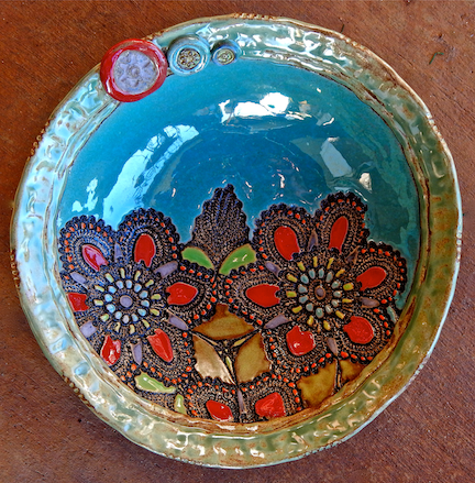 Laurie Pollpeter Eskenazi - Daina Marie's Flowers Bowl