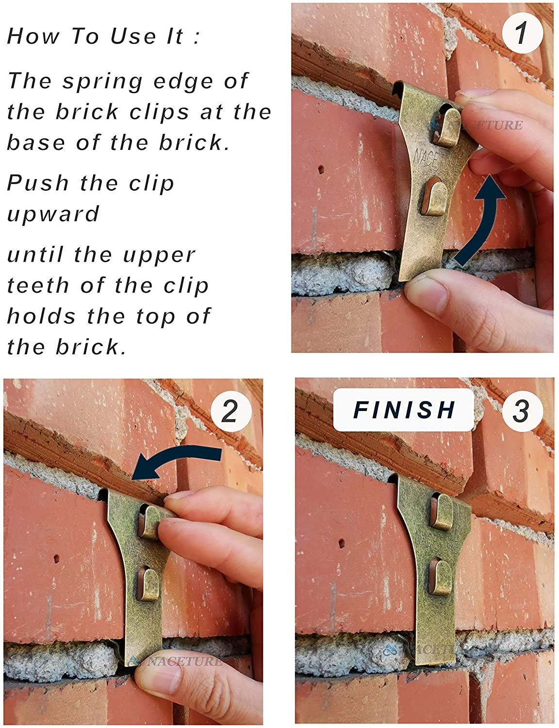 ADD-ON: Set of 2 Brick-Clips Project Pine Designs